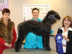 Tyra and I 1st place Groomfest November 2012